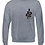 Thumbnail: Aaja standard Heather Grey Jumper (double sided print)