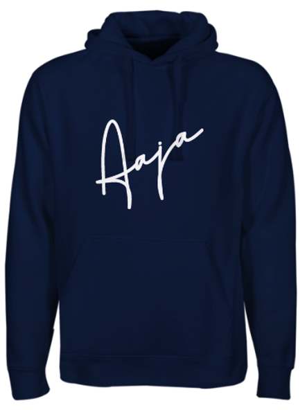 Aaja French Navy Hooded Sweatshirt