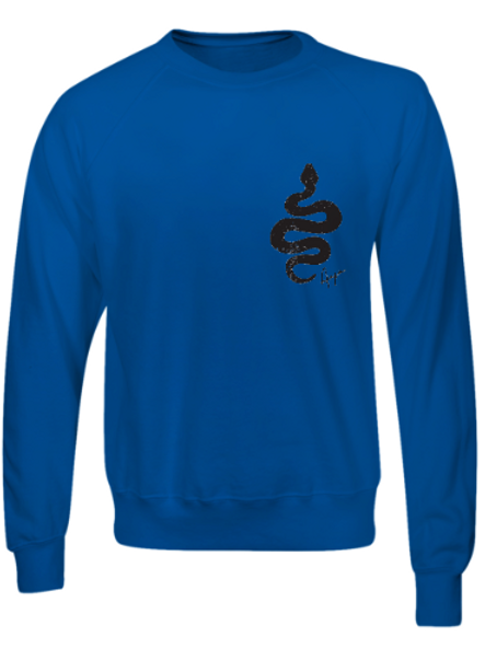 Aaja standard Blue Jumper (double sided print)