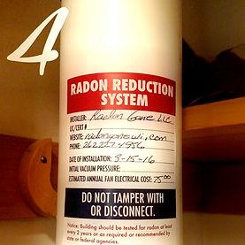 Radon Gone Radon Mitigation System