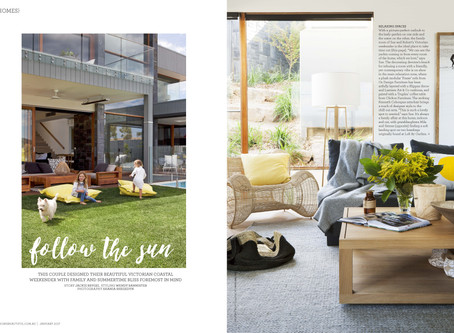 Follow the Sun - DE atelier in Home Beautiful Magazine.