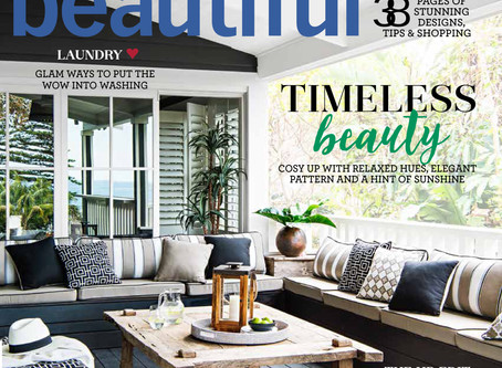 Mix & Match - DE atelier's Dream Bathroom: Home Beautiful Magazine.
