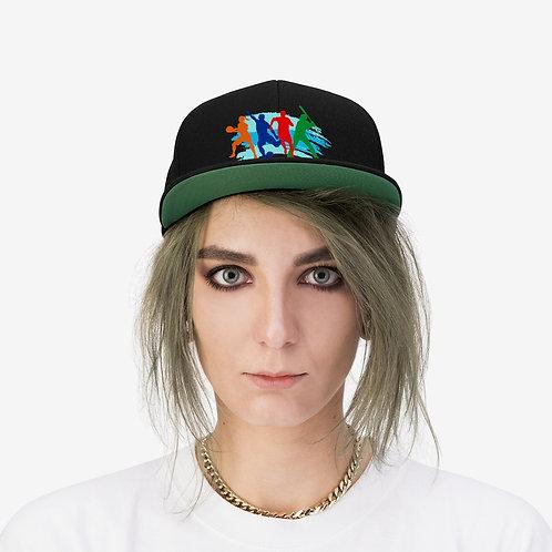 BHC Unisex Flat Bill Hat