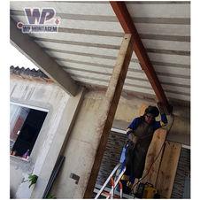 Viga de ferro para reforço estrutural