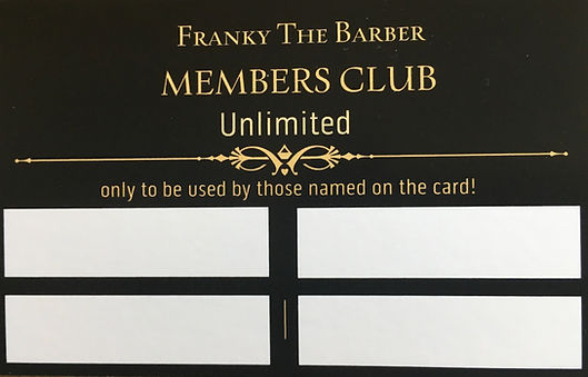 FTB Membership Card 2019