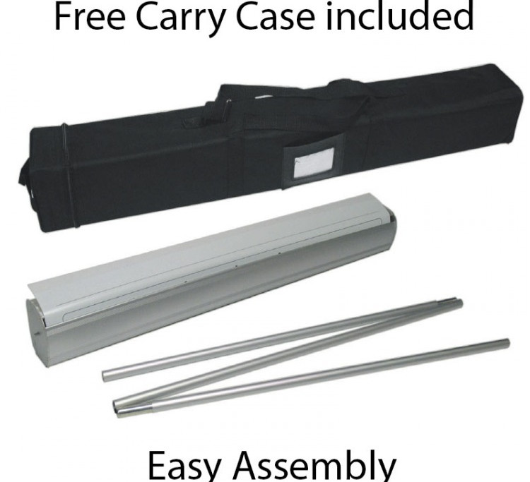 Free Carry Case included