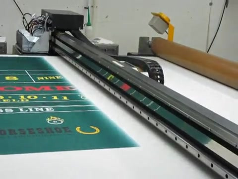 Direct Print Casino Game Table Layouts [