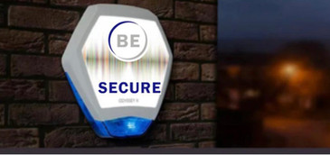 BE SECURE BRANDED ALARMS