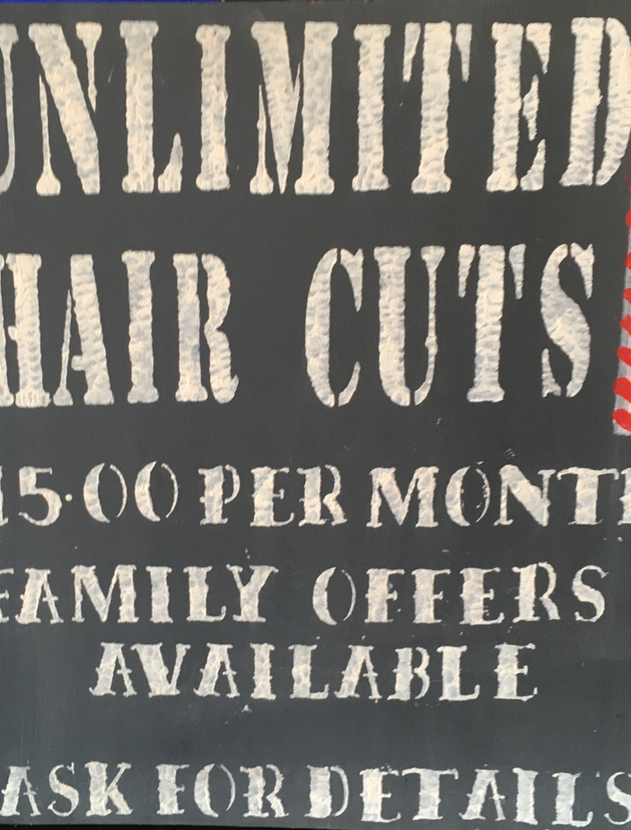 Unlimited Haircut Promotion