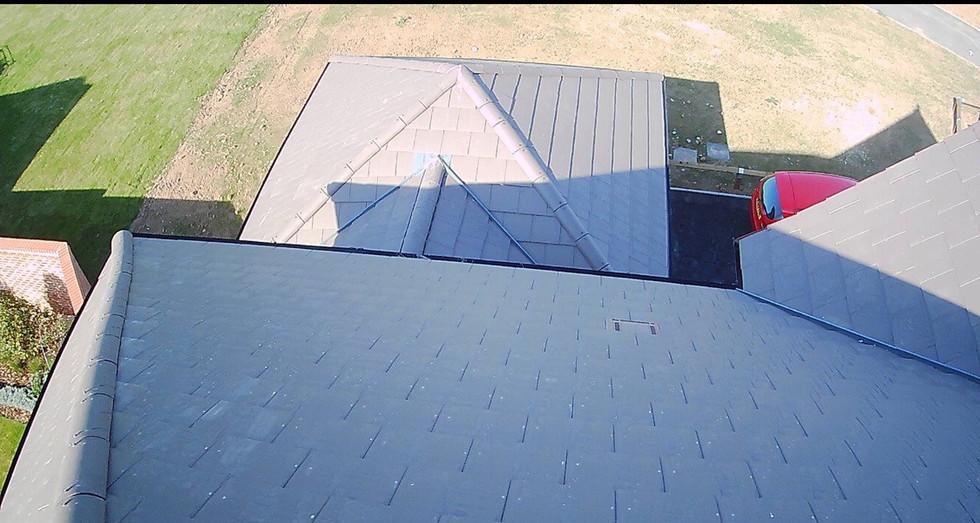 Drone Gutter Inspection