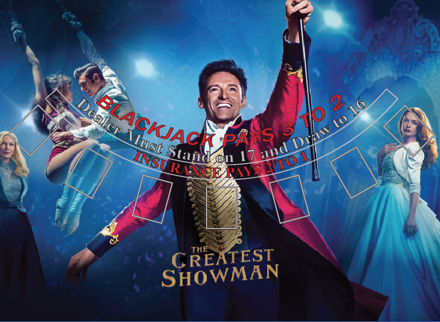 Greatest Showman Promotional Materia