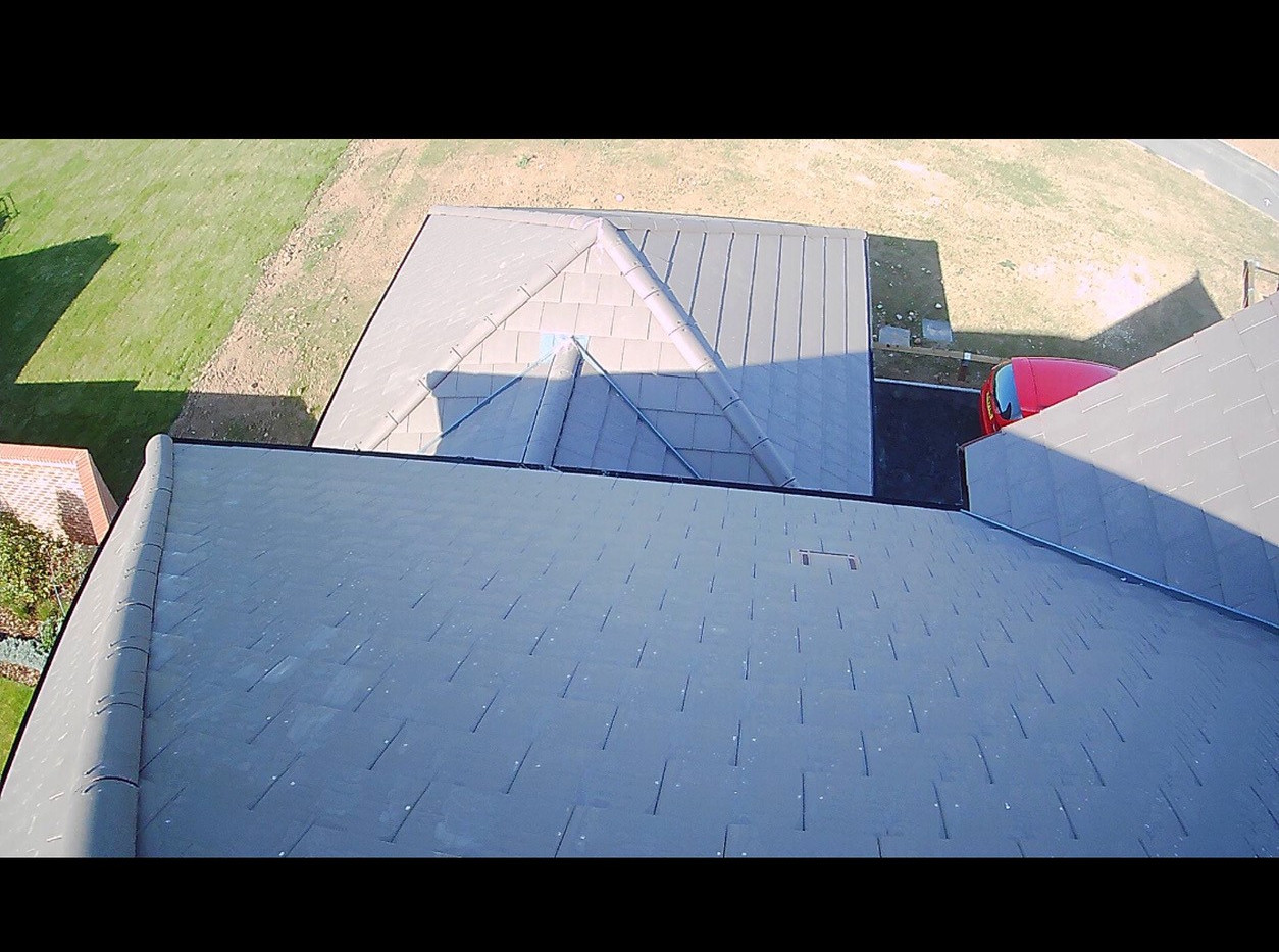 Drone. Main Roof Ridge