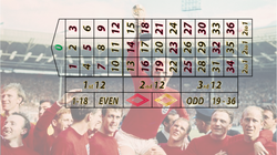 66 WORLD CUP ENGLAND ROULETTE RH
