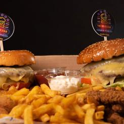 Burger Share Box