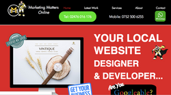 Marketing Matters Online Home Page