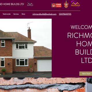 Richmond Home Builds