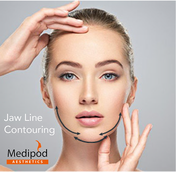 Jaw Line Contouring at Medopod Aesthetic
