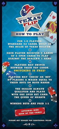 Rack Card Back Texas Flip