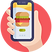 Online Burger order icon.png