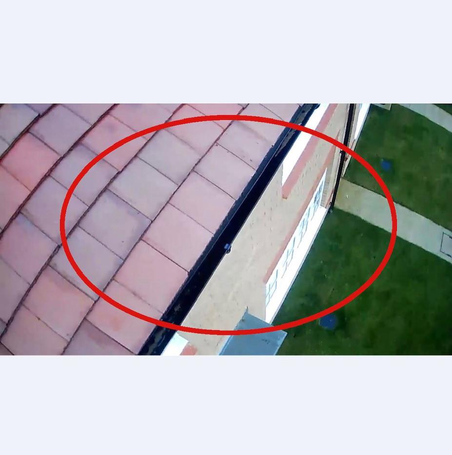 Drone - Gutter & Tiles