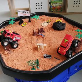 Sand Sensory Learning!