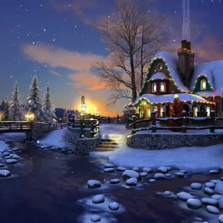 White Christmas 3D Live Wallpaper and Sc