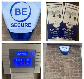 Be Secure products Collage