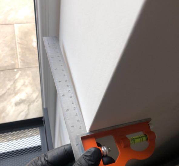 Patio Door Reveal