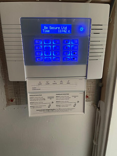 Be Secure Control Panel Installation