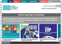 SOS - Students Organising Sustainability