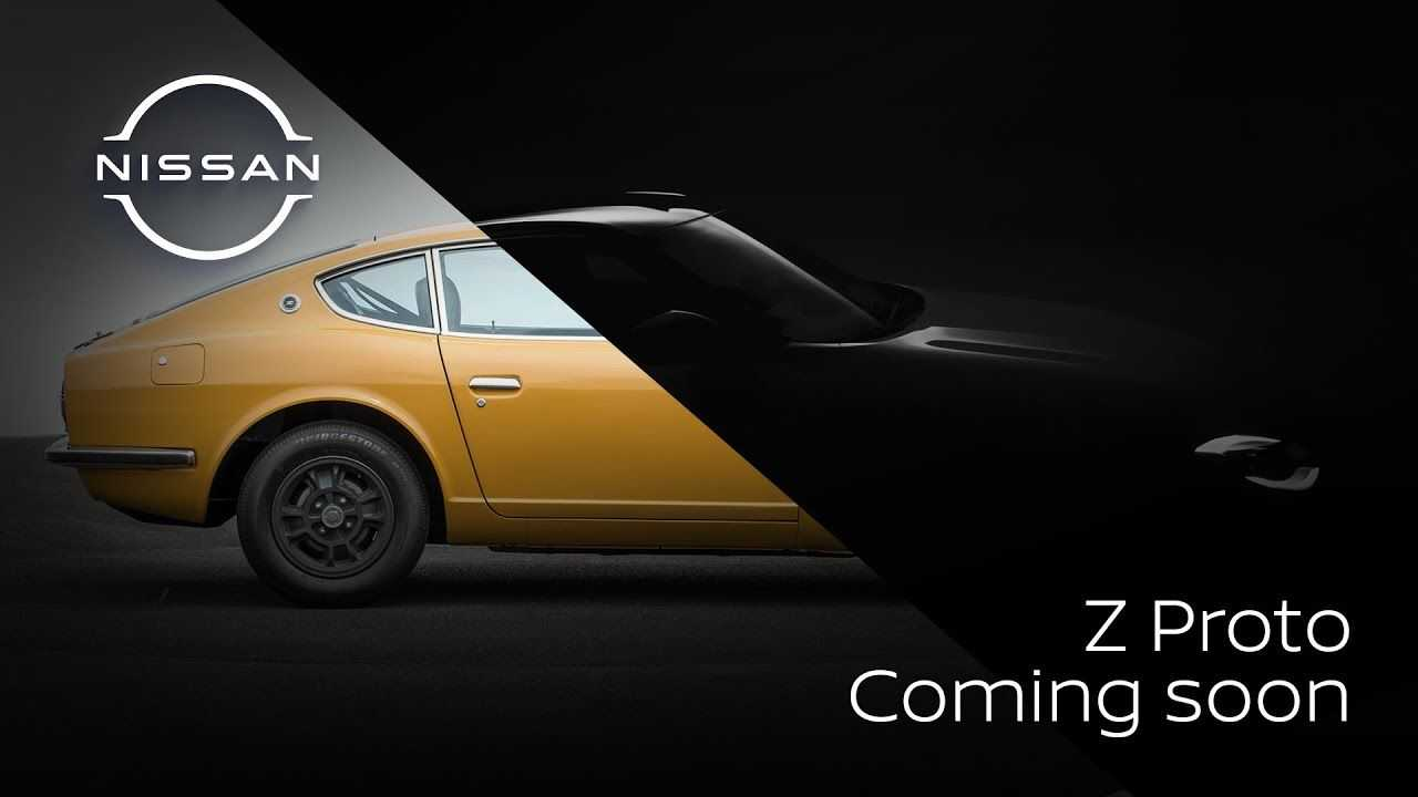Nissan teased the Z sports car again