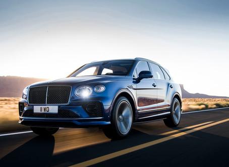Updated 2021 Bentley Bentayga Speed packs in 626-bhp