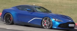 Aston Martin spotted munching miles at Green Hell
