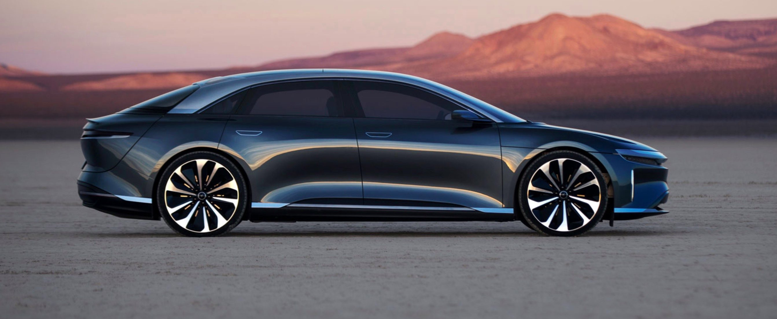 Luxury EV brand Lucid claims 20 minutes charge for 300 miles