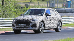 Spied Audi Q5 at the Nurburgring