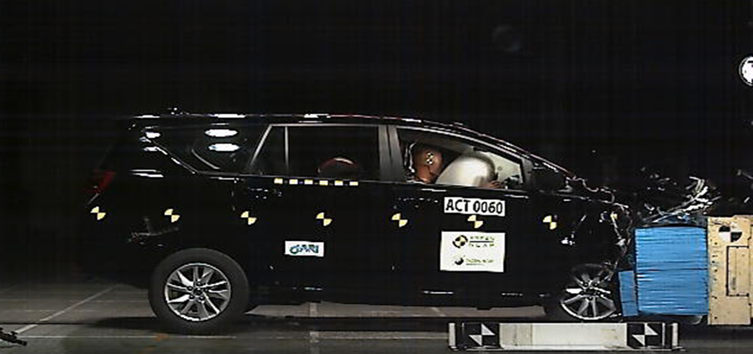 Crash test alert! Toyota Innova Crysta undergoes ASEAN NCAP
