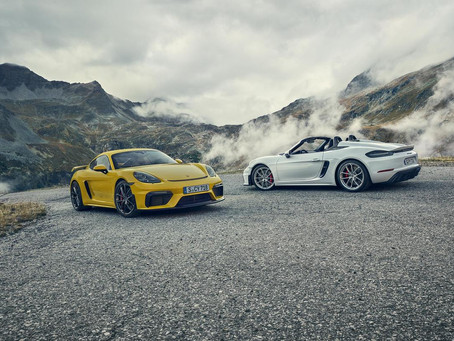 Porsche 718 Spyder and Cayman GT4 launched for India