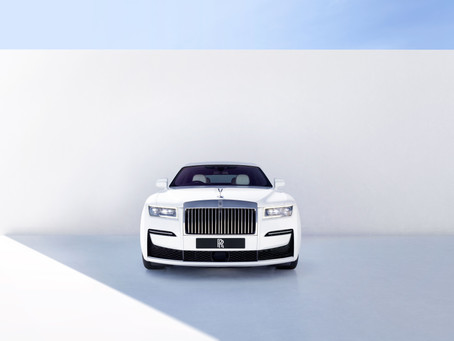 Rolls Royce Ghost: the Goodwood-built Ghost saloon.