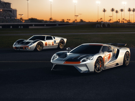 1966 Daytona-inspired Ford GT Heritage edition debut