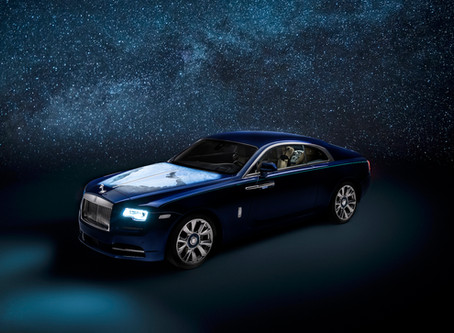 Solar System inspired Rolls-Royce? Here is the Wraith.