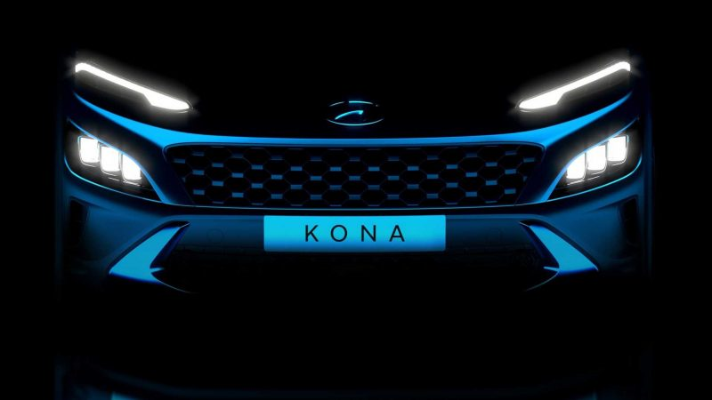 Hyundai teased the new Kona and Kona N line