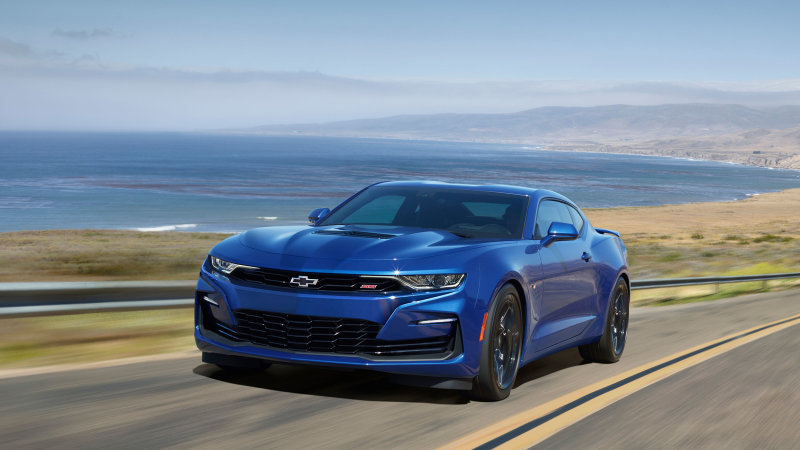 2021 Chevy Camaro hits production