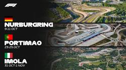 Formula 1 returns to Imola, Portimao, Nurburgring