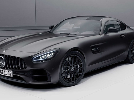 2021 Mercedes AMG GT: Stealth Edition