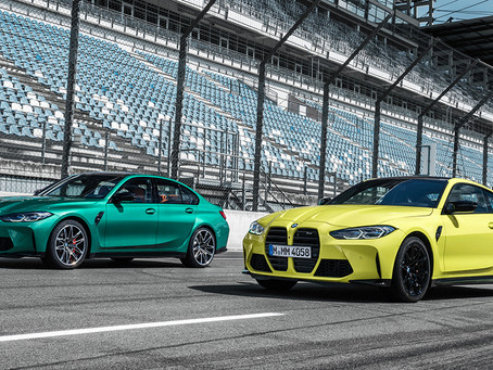 Here is the all new BMW M3 and M4