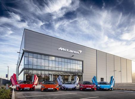 McLaren designs a new lightweight architecture for future
