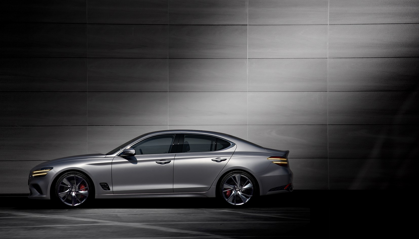2022 Genesis G70 official images