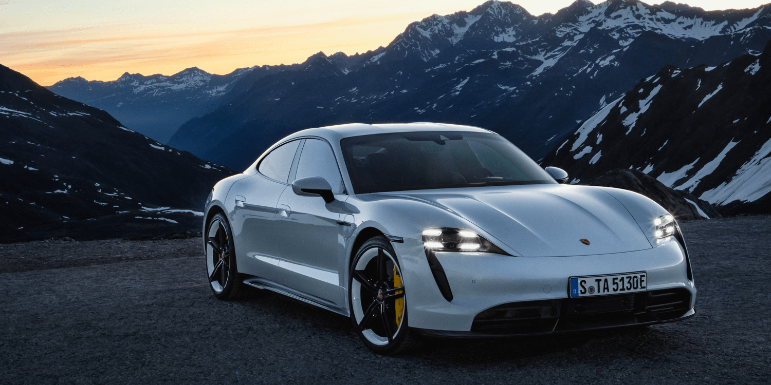 Porsche Taycan, 'the most innovative car in the world'.