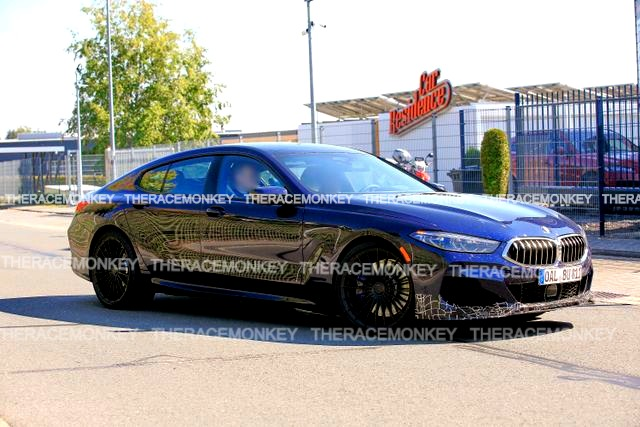 Alpina B8 Gran Coupe spied munching the Nurburgring