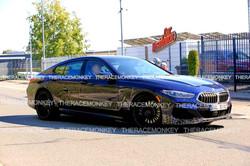 Alpina B8 Gran Coupe spied munching the Nurburgring